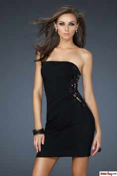 Nightly Seduction Cowl And Lace Dress- Cheap Little Black Dress ...