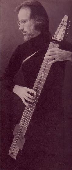 Emmett Chapman- inventor of the Chapman Stick