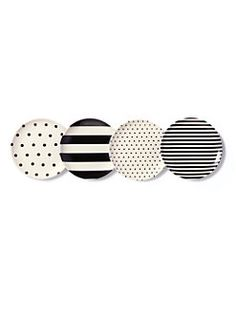 Kate Spade New York - Raise A Glass Coasters/Set Of 4