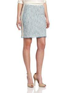 Rebecca Taylor Women's Tweed Skirt, Turquoise/Cream, 6 Rebecca Taylor,http://www.amazon.com/dp/B00AOJMOBA/ref=cm_sw_r_pi_dp_dTipsb0RSRGMV03J