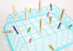 Quick and Easy Fine Motor Clothespin Activity