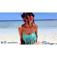 【aya_aca】さんのInstagramをピンしています。 《インポート系の水着ハマりそう👙🌴 #Repost @paanibikini with @repostapp ・・・ 大人気のフリンジバンドゥ💗 GUAMで着てくれたよ🐬 私もだいっすきなGUAM🌺💗 羨ましい〜 あやかちゃんThankyou😘😘 #paanibikini #swimwear #selectshop #import #guam #beach #bikini #trip #resort #beachresort #水着 #インポート #海 #可愛い》