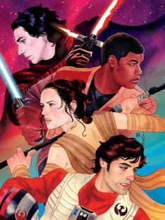 Star Wars Episode VII: The Force Awakens artwork.