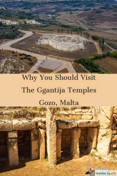 If you are staying on Gozo, you must visit the Ggantija Temples. A Unesco World Heritage Site and one of the oldest freestanding buildings in the world.   #GgantijaTemples #Temples #WorldHeritageSite #Gozo #Malta Malta Travel Guide, Europe Travel Guide, Spain Travel, Travel Guides, Travelling Europe, Travel Abroad, France Travel, Europe Destinations, Amazing Destinations