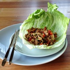 San choi bow!! Clean Eating Recipes, Cravings, Cabbage, Paleo, Bows, Chicken, Vegetables, Cooking, San
