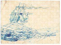 high seas by paulamills, via Flickr