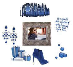 """Royal blue"" by marifimarina ❤ liked on Polyvore featuring GUESS, Effy Jewelry and Once Upon a Time"