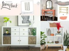Don't miss these genius Ikea hacks that are cheap and easy to recreate. Amazing DIY furniture ideas for every room of your house to save you thousands! Plus.. * More details can be found by clicking on the image. #homedecorandfurniture