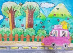한여울 미술학원 - 아동부 미술수업 10월달 초등부 수업 모습입니다. 모델수업(드로잉수업) 첫째주 수업으...
