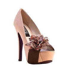 DOLCE by Mojo Moxy Isadora Peep-Toe Platform High Heels  sale $79.99