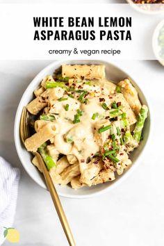 Quick Vegetarian Dinner, Easy Vegan Dinner, Vegan Dinner Recipes, Vegan Dinners, Lunch Recipes, Healthy Pasta Recipes, Healthy Pastas, Healthy Breakfast Recipes, Cooking Recipes