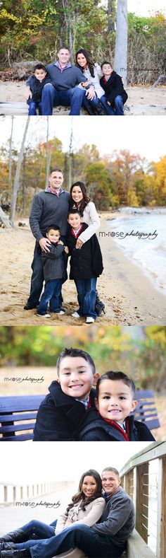 Family of 4. Two boys. Brother photography. Fall Family Photography |  M Rose Photography