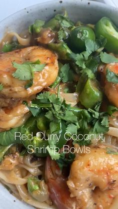 Shrimp Recipes Easy, Fish Recipes, Seafood Recipes, Healthy Snacks, Healthy Asian Recipes, Asian Dinner Recipes, Healthy Eating, Clean Eating Recipes, Cooking Recipes