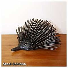 Steel Echidna | Tolga Woodworks | Atherton Tablelands | Queensland | Australia