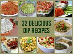 32 Delicious Dip Recipes