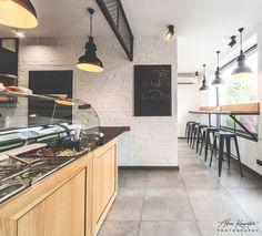 Restaurant design in Katowice POLAND - archi group.  KEBAB BERLIN w Katowicach.