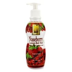 Eminence Naseberry Cranberry Body Wash - 250ml/8.45oz by Eminence. $28.25. Naseberry Cranberry Body Wash. 250ml/8.45oz. Skincare. Eminence - Body Care. Eminence. A mild exfoliating & nourishing body cleanser Formulated with Naseberry, high in glycolic acid for fresher-looking skin Blended with Cranberry, high in vitamins & antioxidants that lessen wrinkles Loaded with Yogurt containing lactic acid for gentle exfoliation & hydration Plus Sweet Almond & Evening Pr...