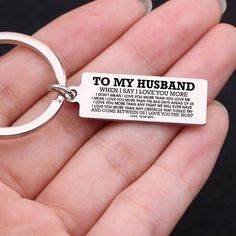 Keychain Love To My Daughter – Forever Love Gifts Bday Gifts For Him, Surprise Gifts For Him, Thoughtful Gifts For Him, Romantic Gifts For Him, Presents For Him, Anniversary Gifts For Him, Anniversary Ideas, Birthday Presents, Anniversary Quotes