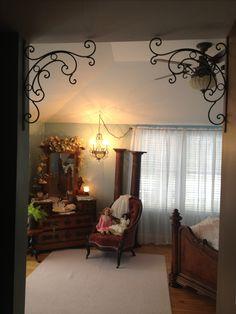 Kim's shabby chic bedroom!!