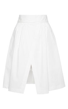 Full Skirt with Bow by MSGM Now Available on Moda Operandi