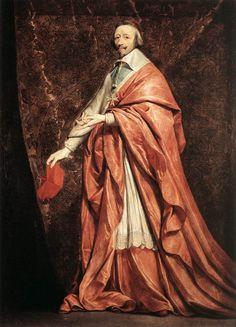 Cave to Canvas, Philippe de Champaigne, Cardinal Richelieu, c....