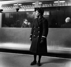 Earls Court Underground, c1960 by Jane Bown
