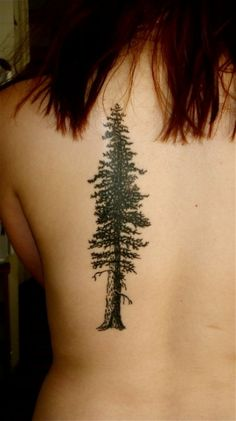 Tree Tattoo for Young Girls Tree