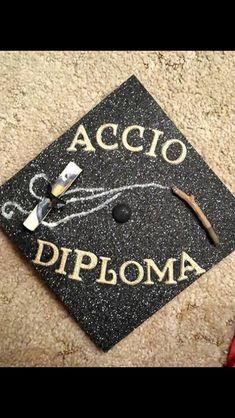 Harry Potter Accio Diploma Grad Cap