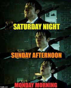 yup, but then you realize that Gotham is on that night :)