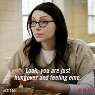 When Somebody Says OITNB Is Too Depressing