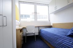 Student accommodation at Marylebone Hall, University of Westminster.