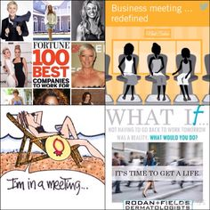 I would love to share with YOU how you can make extra  just by fitting it into your everyday life! You can own your own business, work with your friends and have FUN just by talking to people! 20 years from now you will look back with NO REGRETS!! You have the opportunity to partner with the doctors that created Proactive. Rodan + Fields is the 4th LARGEST skin care company in the U.S. & the FASTEST GROWING!! Message me for more details, pass my info on to anyone who may be interested!