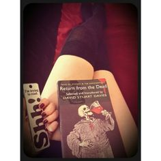 @xx_moonshine_xx Instagram photo | Websta (Webstagram) #horror #stories #book #books #gothic  #roman #hush #overknee #socks #legs