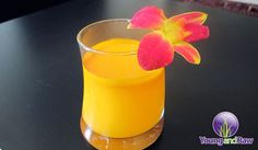 Inflammation Reducing Turmeric Coconut Water Cocktail