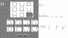 IQ TEST matrix 24 SOLVED AND EXPLAINED