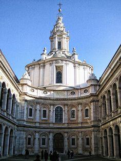 Roma - Sant' Ivo alla Sapienza, province of Rome, Lazio