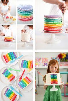 Vous pouvez retrouver la recette de cette version du gâteau en français, par Rose & Cook ici !
