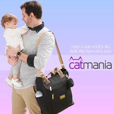 Tudo o que você e seu bebê precisam estão aqui, na Catmania. Acesse: https://www.catmania.com.br/masterbag