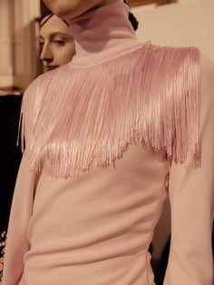 Givenchy SS17 PFW womenswear backstage Dazed