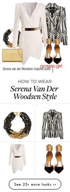 """""""Serena van der Woodsen inspired outfit/Gossip Girl"""" by tvdsarahmichele on Polyvore"""