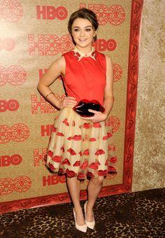 Maisie Williams fashion style