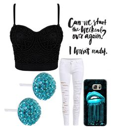 """Untitled #707"" by jaimie-lynn-1 ❤ liked on Polyvore featuring Casetify and Bridge Jewelry"