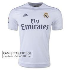 Primera camiseta de tailandia Real Madrid 2015 2016  f203b39f4223d