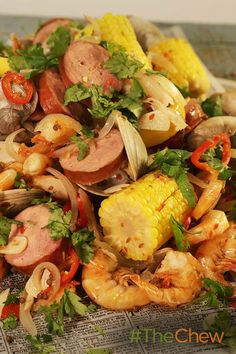 """Michael shows you how to make a midwest take on an iconic east coast feast with this """"Cleveland-Style"""" Clambake!"""