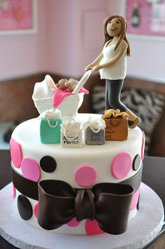 Shower cake.