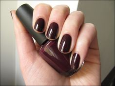 OPI: We'll Always Have Paris.// Probably in my top 5 favorites. deep enough…