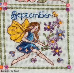 Lesley Teare - Birthday Fairies (Calendar 2015) - September
