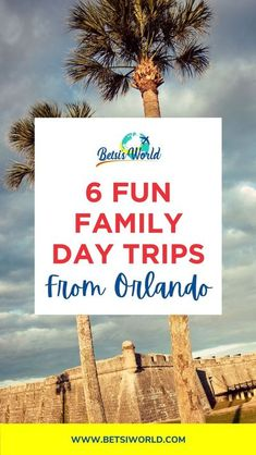 Day trips from Orlando are so easy to take for a quick getaway! While Orlando is packed with so many great family-friendly activities, sometimes you just need to get out of the city and explore… Orlando Vacation, Family Vacation Destinations, Florida Vacation, Florida Travel, Travel Destinations, Vacation Ideas, Fun Vacations, Orlando Disney, Family Vacations