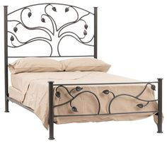 reminds me of my original rivendell inspiration now if only i had 1200 to wrought iron bed frameswrought - Rod Iron Bed Frame