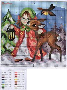 cross stitch chart *♥* Christmas